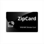 Zipcard negru